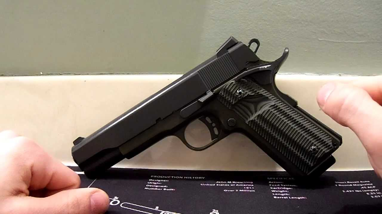 RIA 1911 Tactical Upgraded