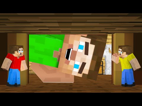 Hiding As TINY PLAYERS In Minecraft HIDE & SEEK!