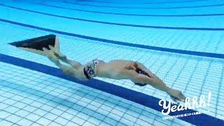 フィンという足ひれを装着して泳ぐフィンスイミング。日本代表の長谷川雄太選手の泳ぎがかっこいい!水中をドルフィンキックで高速且つ波のように体をうねらせて進んでいく ...