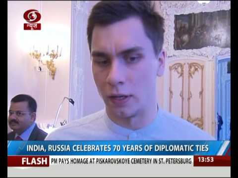 India, Russia celebrates 70 years of diplomatic ties