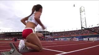 Чемпионат Европы по легкой атлетике-2016. 400 м с барьерами женщины, 1/2 финала Алена Колесниченко