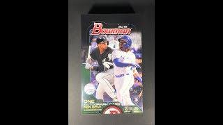2019 Bowman Baseball Hobby Box Break - Nice Auto + 2 Atomic Refractors