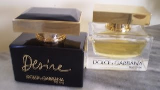 видео The One Desire - DOLCE & GABBANA - Парфюмерия и косметика в Минске
