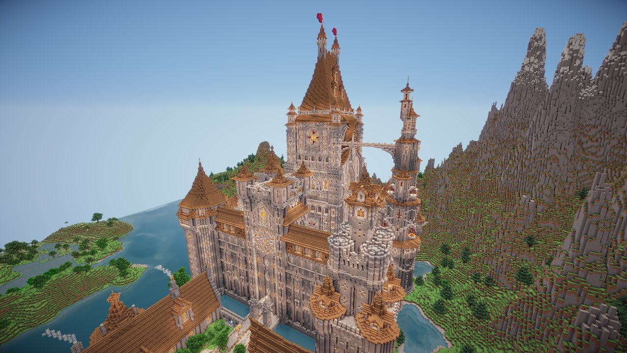 How To Minecraft: Build an Awesome Castle (Difficult) YouTube