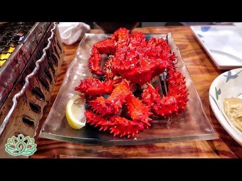 Japanese Food Tour || Tokyo Seafood