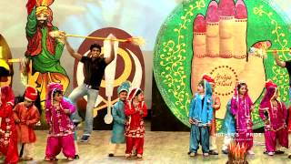 Students of Shalimar Garden Present Giddha at Mother's Pride Annual Day