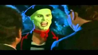 The Mask - Funny Scenes (Jim Carrey) - Slow motion & Fast