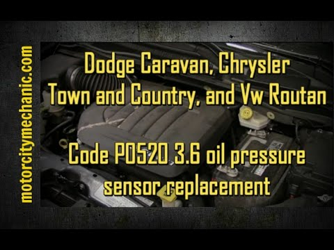 dodge caravan and chrysler town and country 36 engine code
