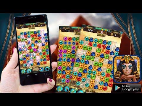 Cleopatra Match 3 Jewels Saga - Pharaoh Gems Quest