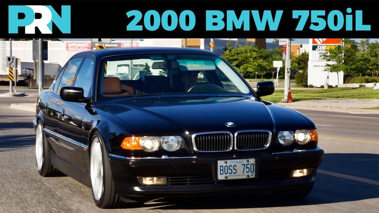 v12 ultimate driving machine 2000 bmw 750il testdrive spotlight [ 1280 x 720 Pixel ]