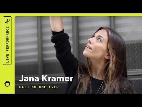 "Jana Kramer, ""Said No One Ever"": Rhapsody Stripped Down (VIDEO)"