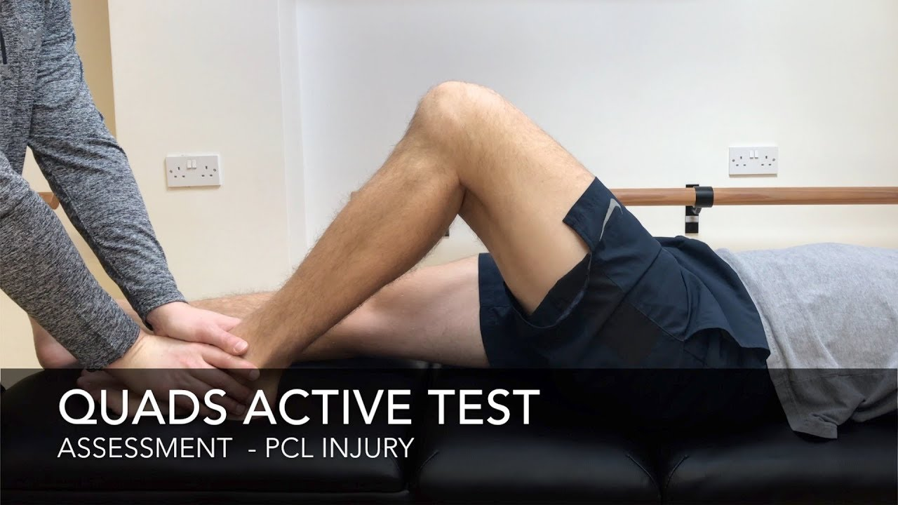 Posterior Cruciate Ligament Injury - Physiopedia