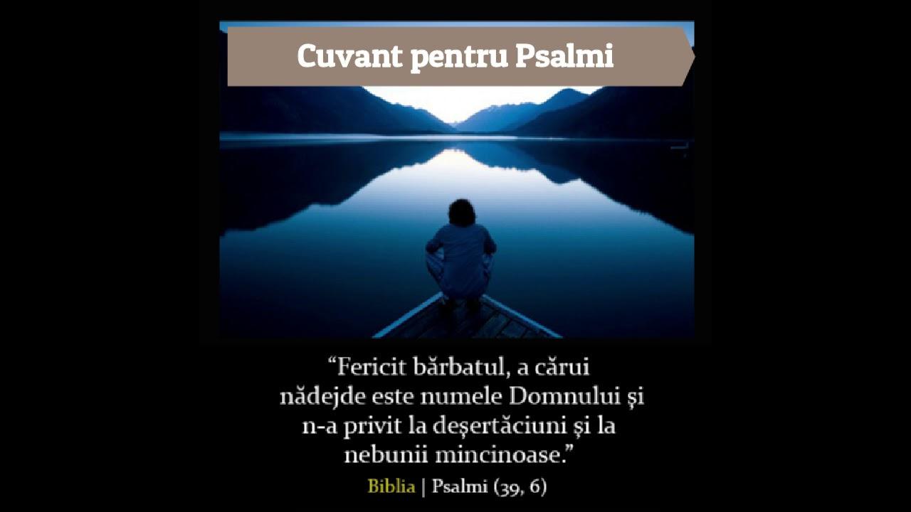 Puterea Psaltirii - Cuvant pentru Psalmi al Sfantului Efrem Sirul