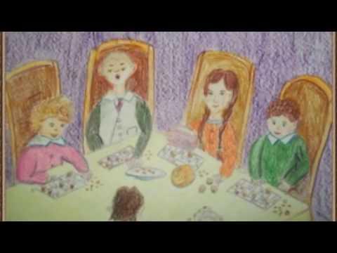 Страна читающая - Алина Иванова представляет буктрейлер по рассказу А. П. Чехова Детвора