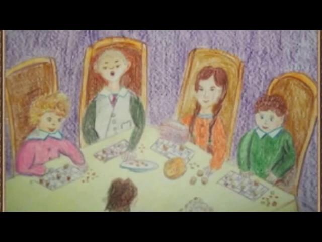 Изображение предпросмотра прочтения – АлинаИванова представляет буктрейлер кпроизведению «Детвора» А.П.Чехова