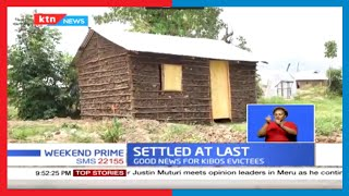 Settled at last: 75 Nubian families in Kisumu who were evicted by the Kenya Railways get shelters