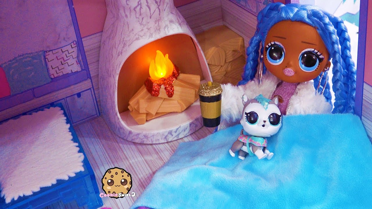 Download Chilly Snow Morning Routine OMG LOL Surprise At Winter Disco Chalet House