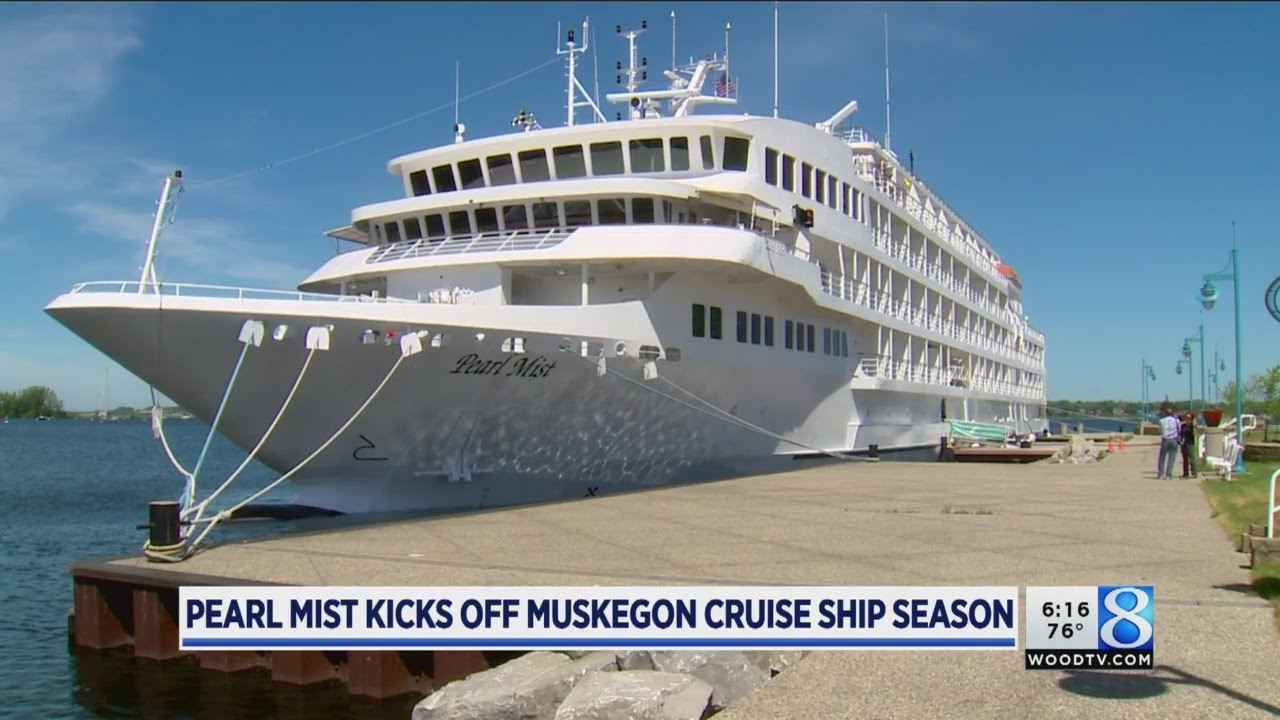 Pearl Mist Cruise Ship Arrives Back In Muskegon Youtube