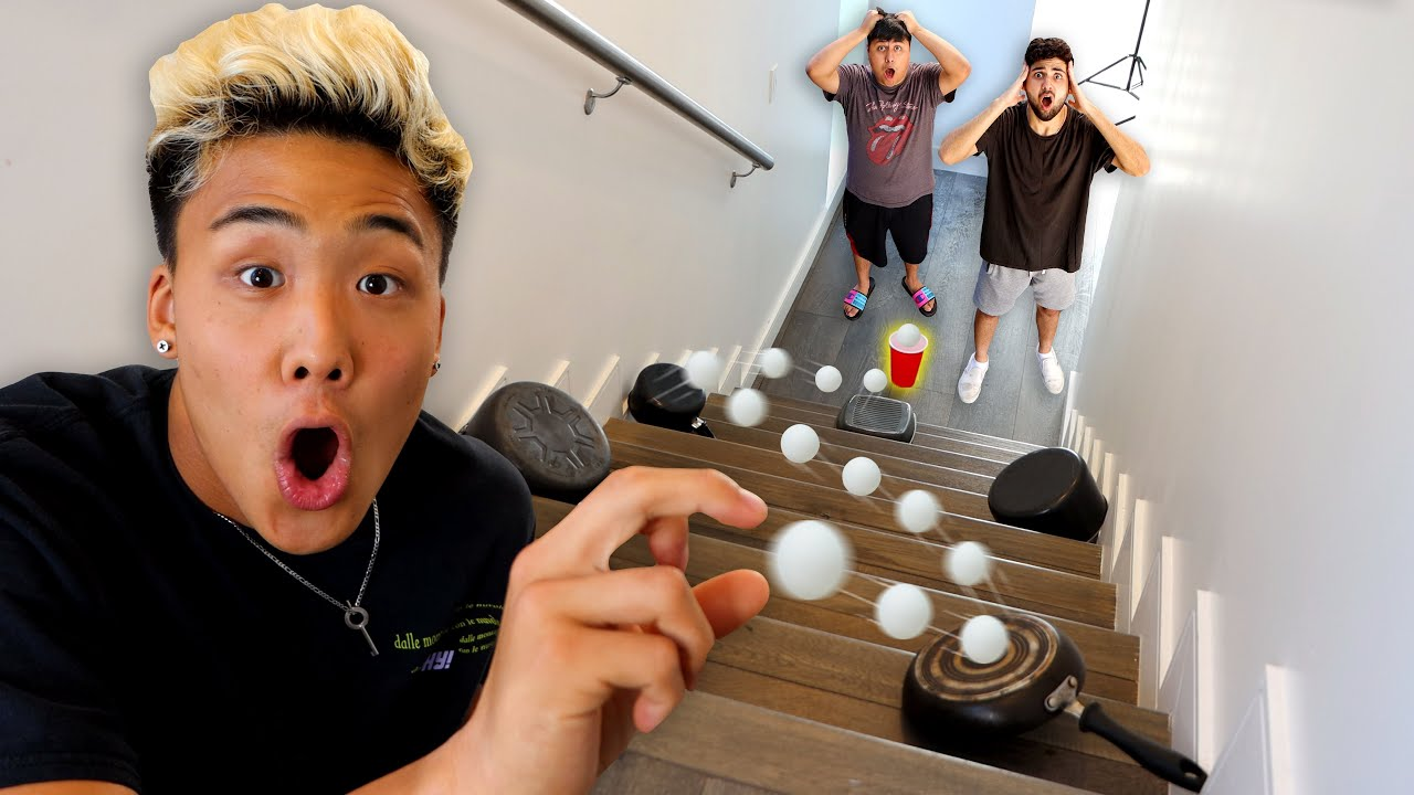 Recreating CRAZIEST Tik Tok TRICKSHOTS!