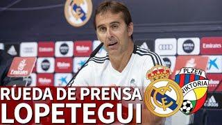Real Madrid vs. Viktoria Plzen| Rueda de prensa de Lopetegui I Diario AS