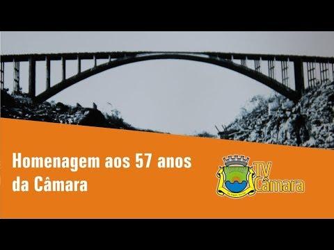 CAMARA SAO SIMAO - 57 ANOS - HOMENAGEM