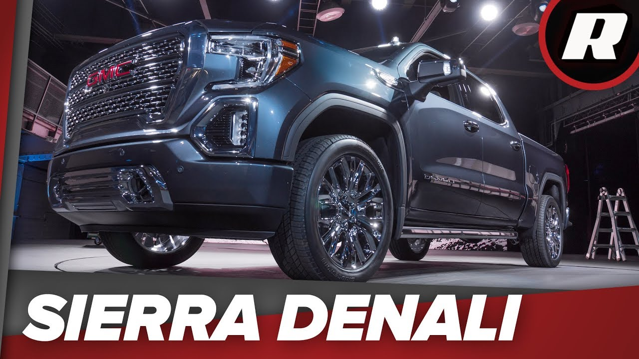 F150 Double Cab >> First look: 2019 GMC Sierra 1500 Denali - YouTube