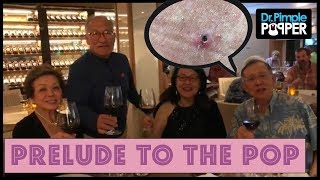 Prelude to Blackhead POPS today!  My parents' World Cruise