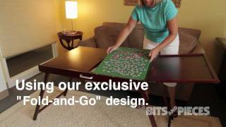 Fold-and-go® Wooden Jigsaw Table - 48130