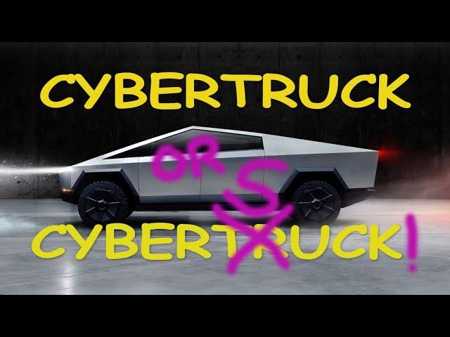 Tesla Cybertruck or Cybersuck?