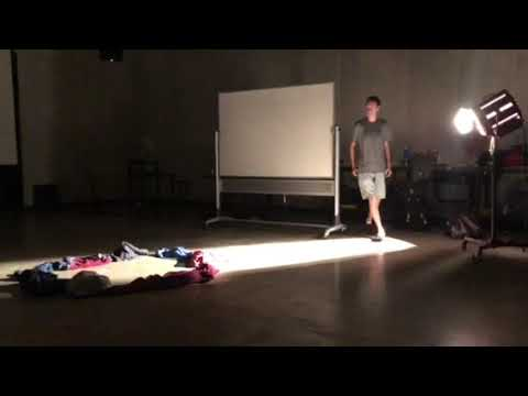 The Fabric Of Time - Performance Art With Clothing