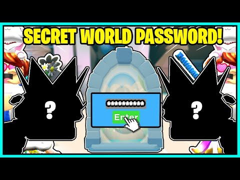 CLICKING CHAMPIONS *SECRET PASSWORD* FOR MY WORLD! NEW GOLDEN PETS! I HATCHED THE NEW SECRET PET!