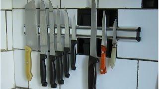 Магнитный держатель для ножей Attribute(Под ссылкой, фотки этого держателя и немного про установку http://www.mnogohlama.ru/Index/Attribute.html., 2015-08-26T10:12:55.000Z)