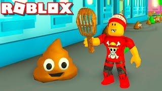 Roblox → ECA! SIMULADOR DE LIMPAR COCÔ !! - Roblox Poop Scooping Simulator 🎮