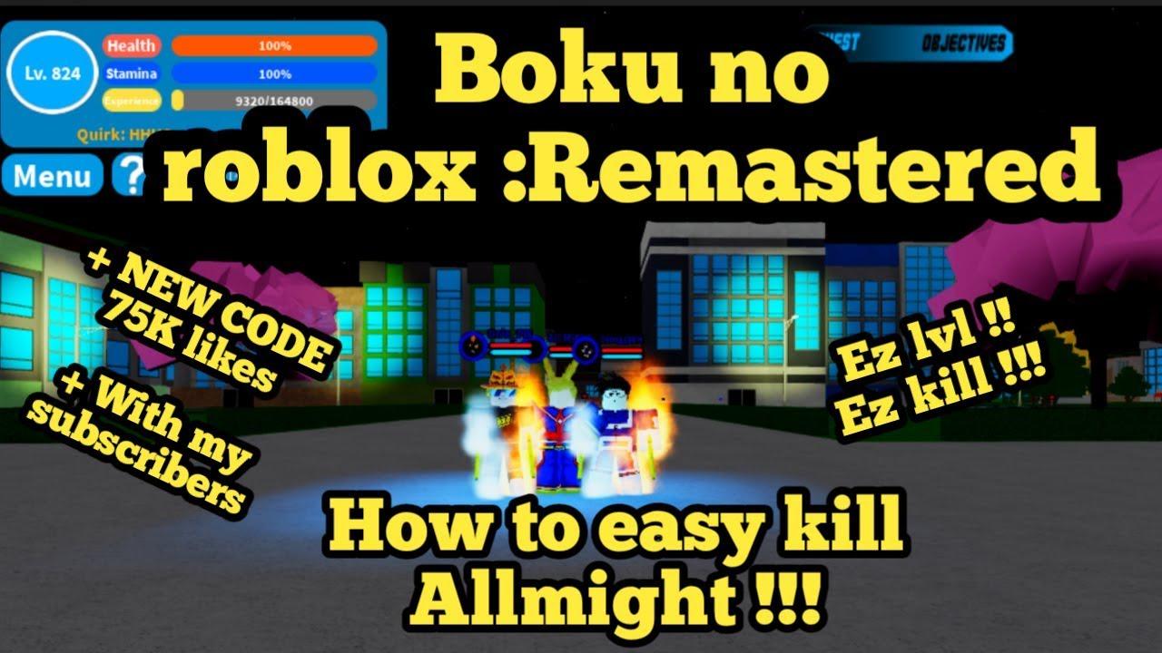 Code Of Boku No Roblox | StrucidCodes.com