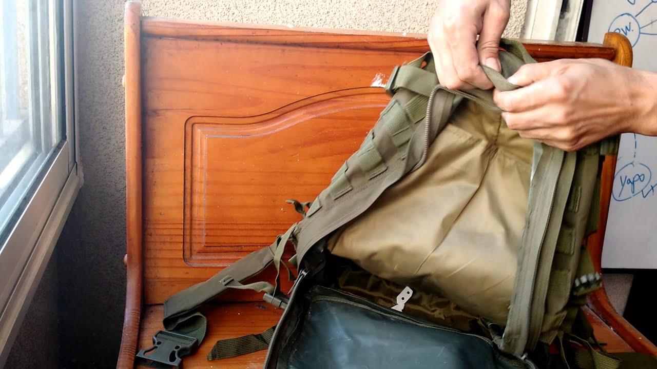 f2ce513d2c Mochila Asalto 3 días - Tipo Militar - YouTube