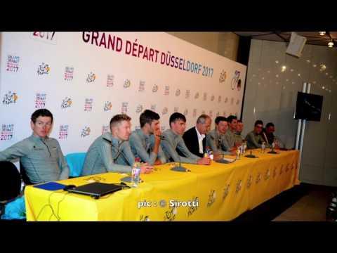 Conférence de presse AG2R La Mondiale avant le Tour de France 2017