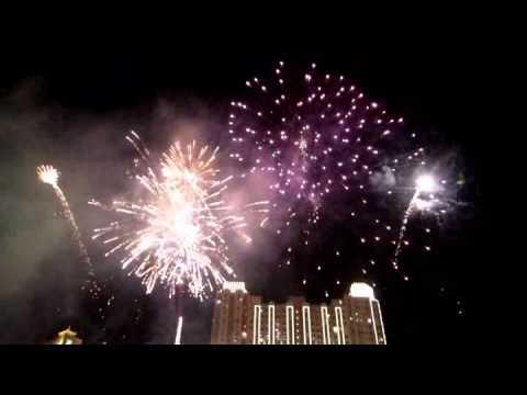 Fireworks party @Tribeca Park, Central Park Mall , Jakarta, Indonesia
