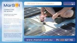 Solar Caravan Installation Video Guide HD