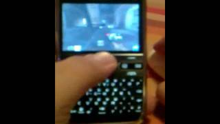 playing quake 2 on nokia e72 with bluetooth mouse