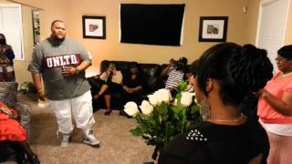 Woman Gets Surprised By Singing Marriage Proposal (Tear Jerker)