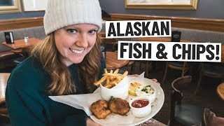 ALASKAN VS. BRITISH FISH AND CHIPS! + Our Final Day in Alaska!