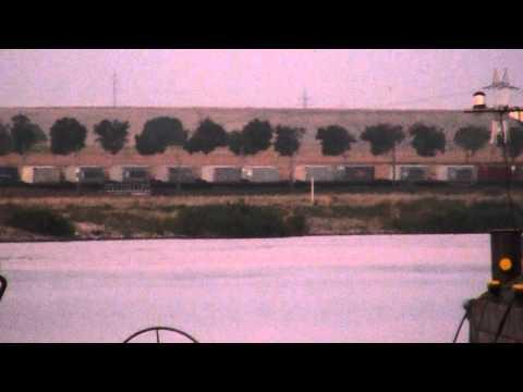 Trains near the Danube-Black Sea Canal,2011.08.17.part 2.