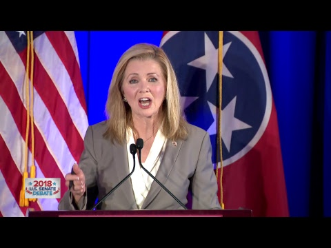 2018 U.S. Senate debate between Marsha Blackburn and Phil Bredesen channel