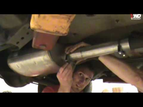 how to install a 4wdh cat back exhaust on a wj grand cherokee
