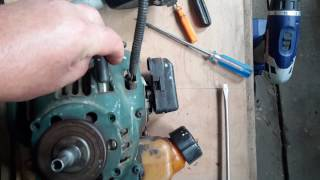 Бензокоса Sungarden GB25 ремонт стартера