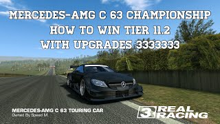 Real Racing 3 How To Win Tier 11.2 Of The Mercedes-AMG C 63 Championship With LTS Upgrades RR3