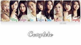 GIRLS' GENERATION (소녀시대) SNSD – COMPLETE Lyrics Color Coded [Eng/Han/Rom]
