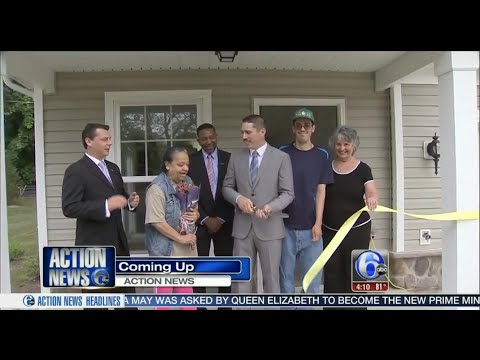 Mount Holly residents receive their new homes Ch6 ABC