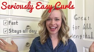 How To Curl Your Hair So it STAYS! Beginner Friendly!