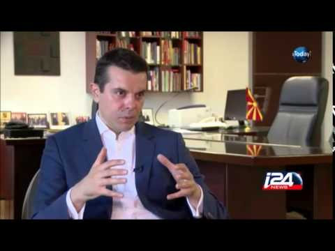 Interview with Macedonian Minister of Foreign Affairs -  Nikola Poposki